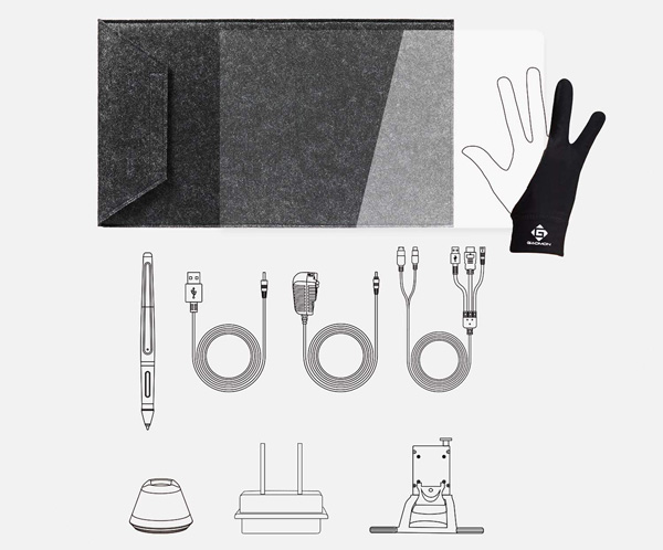 gaomon pd1560 accessoires